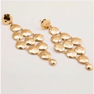 Gorjana drop cascade earrings